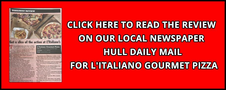 L Italiano Hull L Italiano Hull Takeaway Order Online