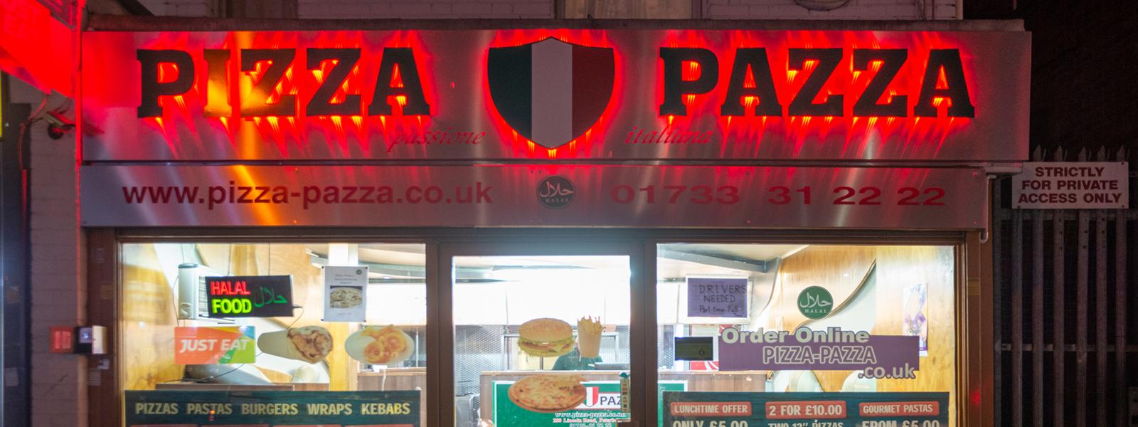 Pizza Pazza Peterborough Pizza Pazza Peterborough