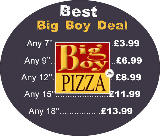 The Big Boy Pizza The Big Boy Pizza Hayes Middlesex