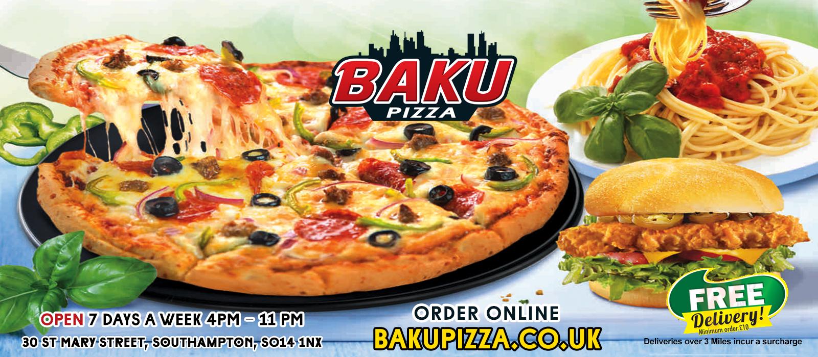 Baku Pizza Baku Pizza Southampton Southampton Takeaway