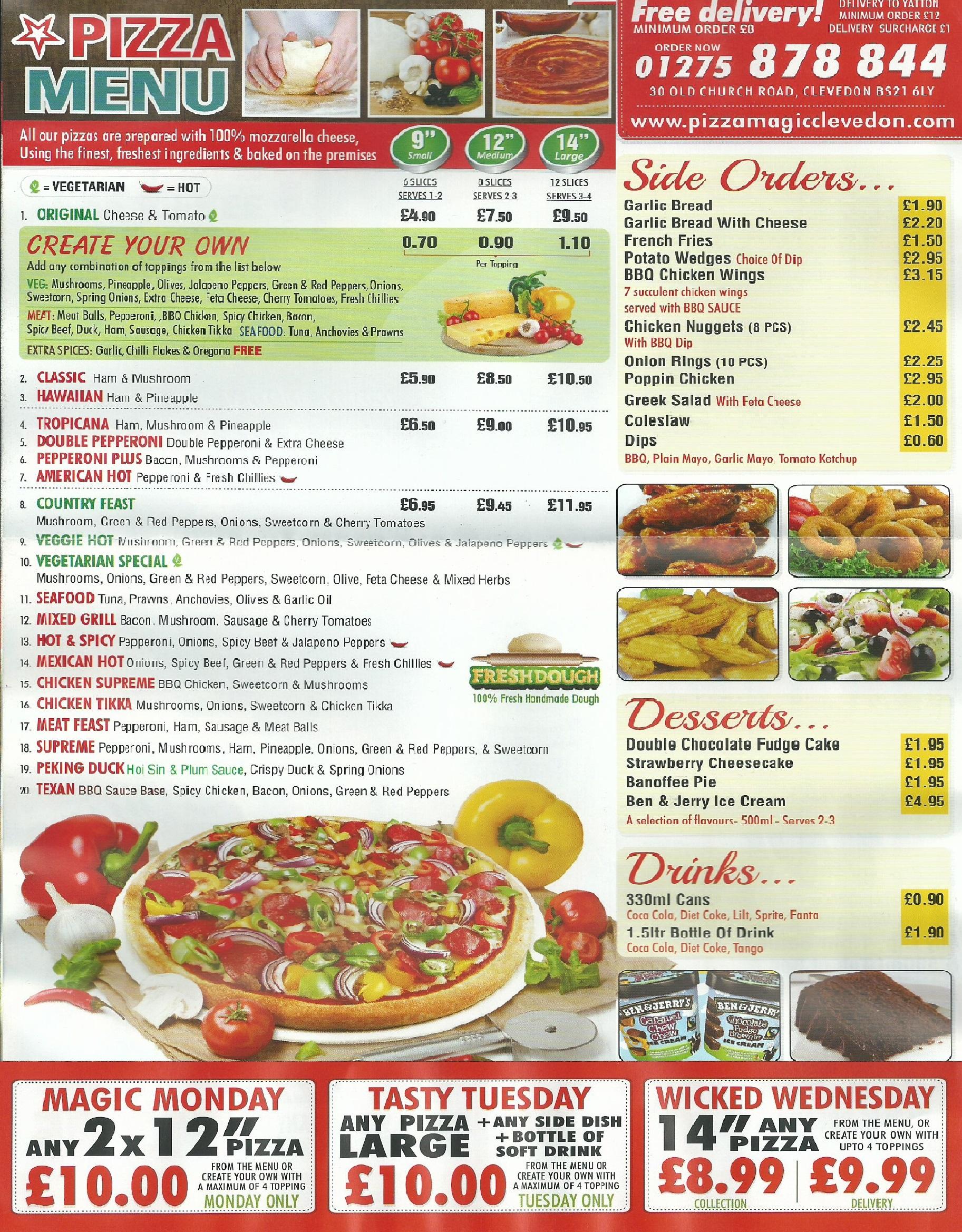 Pizza Magic Clevedon