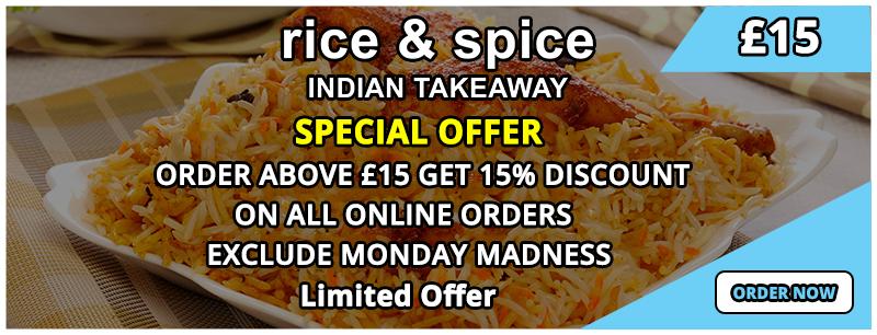 Rice Spice Rice Spice Harpenden Takeaway Order Online