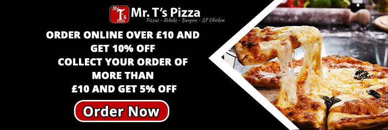 Mr Ts Pizza Mr Ts Pizza 7 Market Street Heanor De75 7nr