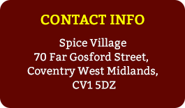 Spices City Takeout | Spice Village, Coventry, Takeaway