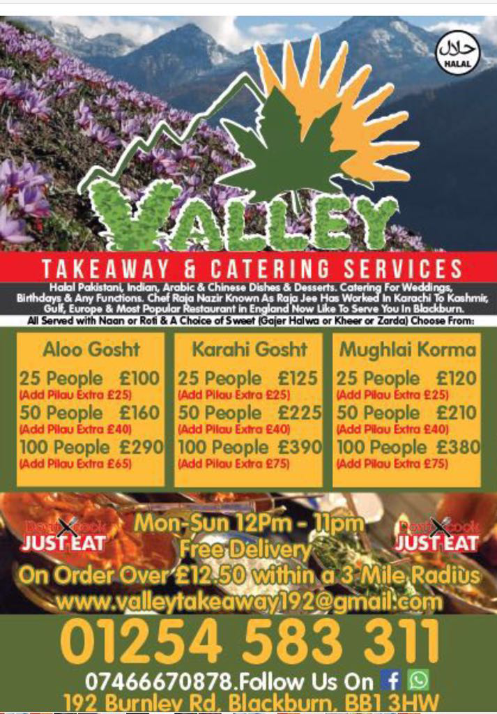 Valley Takeaway Extra Page