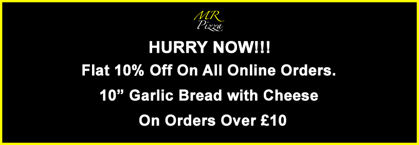 Mr Pizza Mr Pizza Crewe Takeaway Order Online