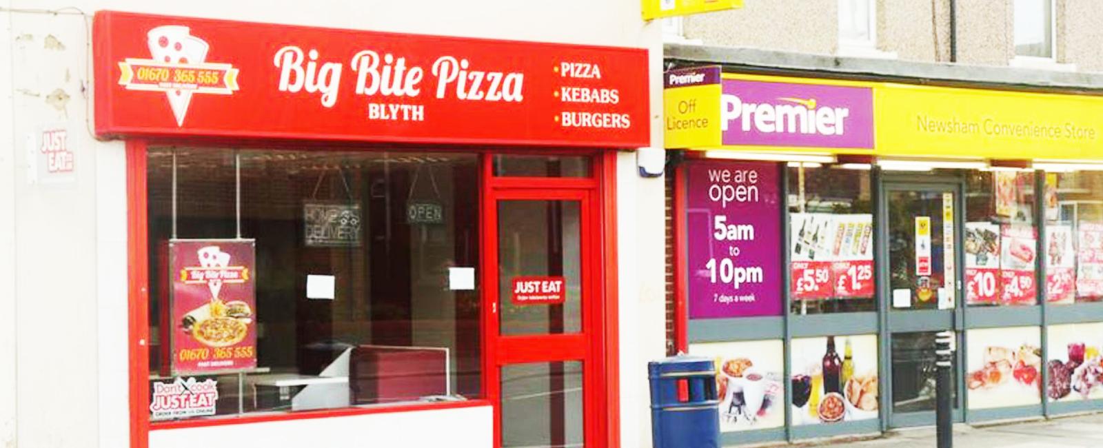 Big Bite Pizza Big Bite Pizza Blyth Tyne And Wear