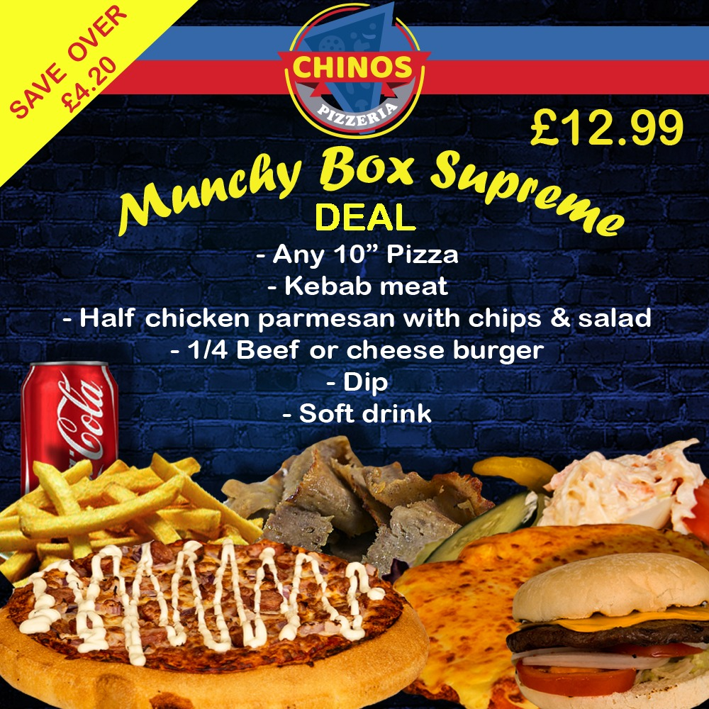Chinos Sb Foods Ltd Takeaway Online Ordering In Coulby Newham